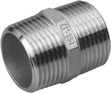 Veda 2/pectoraux Tuyau Laiton Raccord de robinet Filetage m/âle de plomberie deau Raccord de tuyau adaptateur