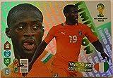 Panini Adrenalyn XL WM 2014 Brasilien - Toure Elfenbeinküste limited Edition