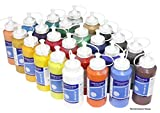 Magi 24 x Acrylfarbe je 500 ml, (00-Set Alle 24 Farben)