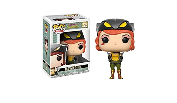 Heroes Funko Pop Dc Bombshells Hawkgirl Collectible Figure 22892 Accessory Toys /& Games
