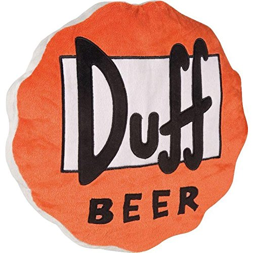 I Simpsons Duff birra-Cuscino