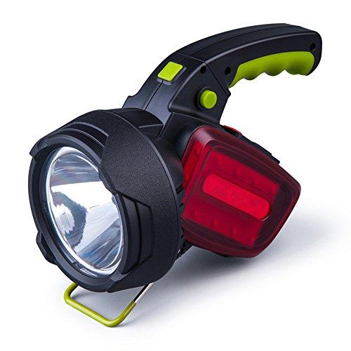 Wzlight Taschenlampe super helle im Freien tragbare USB wiederaufladbare Taschenlampe Taschenlampe Suchscheinwerfer Multifunktions-Langstreckenbeleuchtung