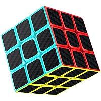 Gritin Cubo Mágico,Cubo de Velocidad 3x3x3 Puzzle Inteligencia Mágico Speed Cubo Rompecabezas y Fácil Giro, Súper Duradero
