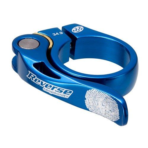 Reverse Long Life Sattelklemme mit Schnellspanner 34.9mm dunkel blau