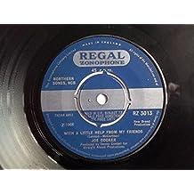 "JOE COCKER With a Little Help From My Friends 7"" vinyl"