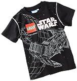 Lego wear 10418 - Tomas 212 T - Shirt, Farbe: Schwarz