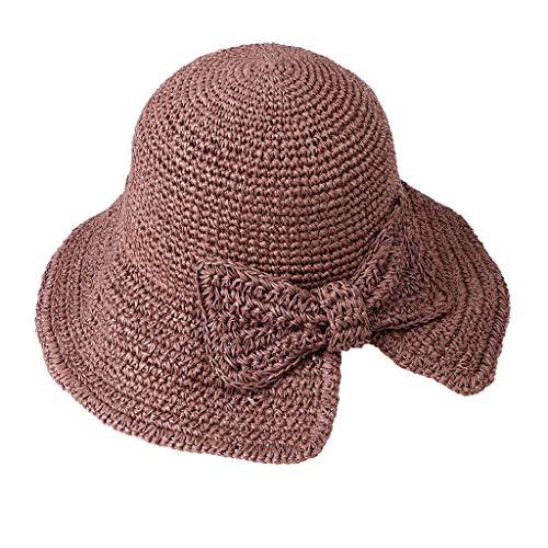 Poachers Hut,Faltbarer Hinterer Gespaltener BüGelfischer-Strohhut Der FrüHling Und Sommerfrauen