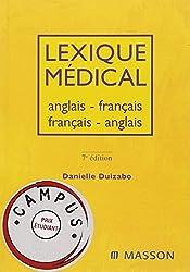 Lexique médical anglais-français/français-anglais