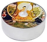 Pure D'light Motiv-Teelichte Buddha BD 0001, 1er Pack (1 x 18 Stück)