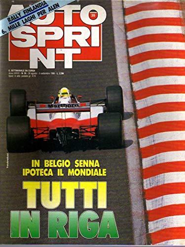 Autosprint 35 del 8-9 / 1988 Senna, Teo Fabi, Zeltweg, Alen, Citroen Ax