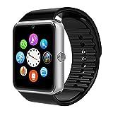 AsiaLONG Bluetooth Smartwatch Smart Uhr Watch Armbanduhr mit 1.54 Zoll Display