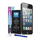 MMOBIEL Akku für iP 5S Batterie 3,8v 1560 mAh 5.92 Wh mit Anti-statischem Sticker 2 x Schraubenzieher 2 x Hebelwerkzeug und Anleitung