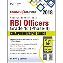 Amazon wiley bookstore books wileys reserve bank of india rbi officers grade b phase ii fandeluxe Image collections