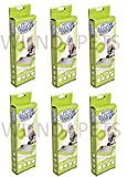 6X PET BRAND CAT KITTEN LITTER TRAY LINERS LARGE 8PK (48 LINERS) CL004 H1