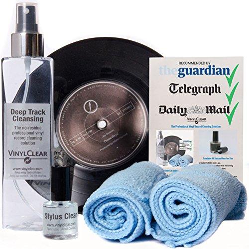 Kit detergente Advanced Vinyl Record Cleaning scelto dagli audiofili