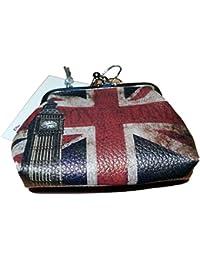 Londres con Union Jack monedero souvenir