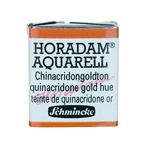 Preisvergleich Produktbild Schmincke Horadam Artists Watercolours Quinacridone Gold Hue Half Pan (Series 2) (217)