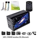 Autoradio Touch Screen 17,8cm 2DIN HD Auto Radio MP5Lettore Stereo con Funzione Touch Screen Digitale Principale MP5Auto Radio Video con Bluetooth Supporto SD Card