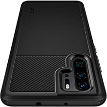 Spigen [Rugged Armor] Case Compatible for Huawei P30 PRO, Original Patent Design Flexible Black TPU Slim Camera Protection Ergonomic Grip Phone Cover for Huawei P30 PRO Case