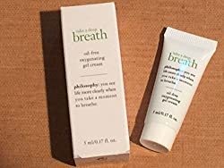 PHILOSOPHY TAKE A DEEP BREATH Oil-Free Oxygenating Gel Cream . 17 oz BNIB