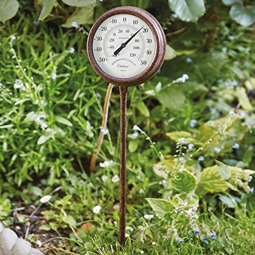 Smart Garden Oakham Steckpfahl Thermometer, 65 x 18 cm, wetterbeständig, einfach