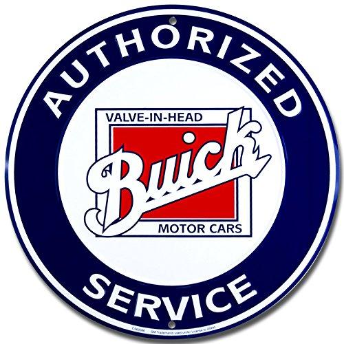 buick-service-rund-targa-placca-metallo-piatto-nuovo-30x30cm-vs1915-1