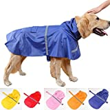#6: Douge Couture High Neck Rain Coat for All Dogs