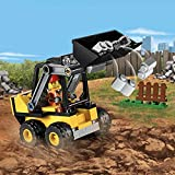 LEGO 60219 City Great Vehicles Construction Loader Building Truck Toy with Road Worker Minifigure