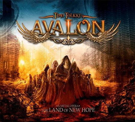 Pop CD, Timo Tolkki\'s Avalon - The Land Of New Hope[002kr]
