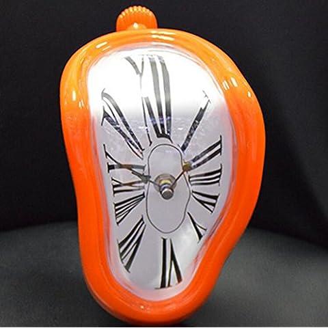 WEISHENMEN Piedistallo creativi piegato orologio da parete