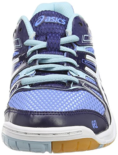 Asics Gel-rocket 7, Damen Volleyballschuhe Blau (powder Blue/white/indigo Blue 4701)