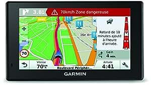 Garmin DriveSmart 50 LM - GPS Auto - 5 Pouces - Cartes 24 Pays gratuites à Vie - Cartes et Trafic gratuits à Vie