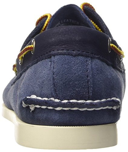 Timberland Brig 2 Eye Boat, Scarpe Low-Top Uomo Blu (Blue)