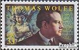 Prophila Collection USA 3384 (kompl.Ausg.) 2000 Thomas Wolfe (Briefmarken für Sammler)