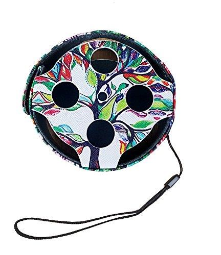azon Echo Dot (passt, völlig neue Echo Dot 2nd Generation nur)–PREMIUM Vegan Leder Sleeve, Skins & #-; Haut Aufkleber Tragbare Reisetasche Box (Niedlich Billige Halloween-dekoration)