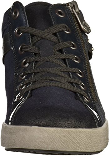 Blu Indietro Sneakers Indietro D5273 Blu Donne D5273 Ww4Iqzx