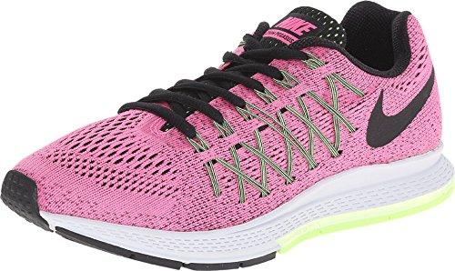 Nike W Air Zoom Pegasus 32 N, Zapatillas de Running para Mujer, Rosa (Pink Pow/Blk-Brly Vlt-Ghst Grn), 35 1/2 EU