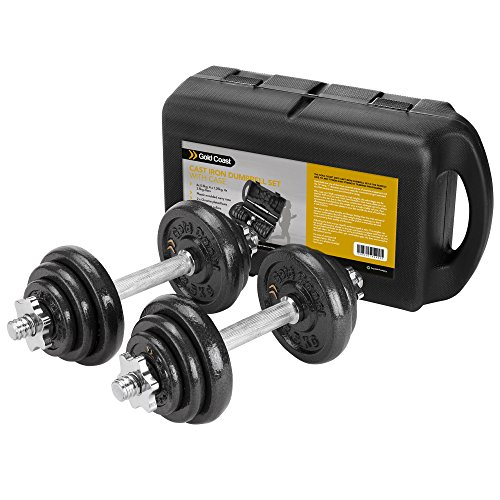 gold-coast-20kg-cast-iron-dumbbell-set-with-carry-case-free-2-year-warranty