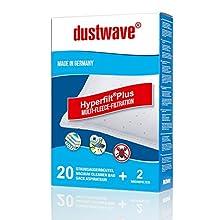 Dustwave Megapack Lot de 20 sacs d'aspirateur compatibles avec Rowenta RO 6441 EA / RO6441EA Silence Force