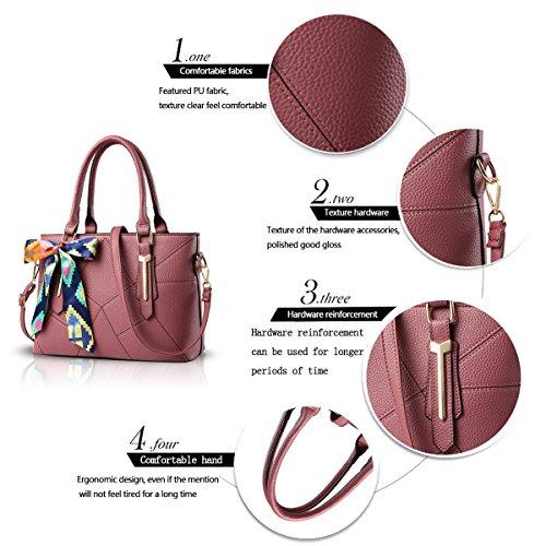 Sunas La signora Borsa Messenger borse del sacchetto borsa a tracolla minimalista selvatici lavoro portafoglio polvere di gomma