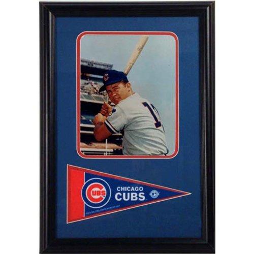 Encore Select 12x18 Pennant Frame - Ron Santo Chicago Cubs -