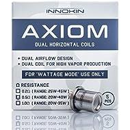 New Innokin Axiom Dual Horizontal Coils 0.5Ohm (20-40w) Pack of 5