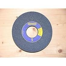 cerámica Muela abrasiva 125 x 20 x L 32mm , Corindon normal , Granulado 46 , para Hierro, Acero, Acero de construcción