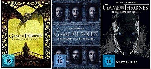 game of thrones 6 staffel Game of Thrones Staffel 5-7 (5+6+7) [DVD Set]