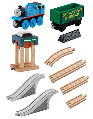 Thomas & Friends BBD10 Wooden Railway Coal Hopper Figure (Set of 8)