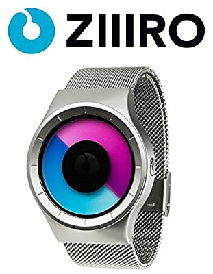 ZIIIRO Reloj - Celeste - Chrome Púrpura de ZIIIRO