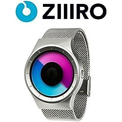 ZIIIRO Uhr - Celeste - Chrome Lila
