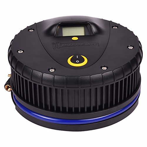 Michelin 12259 Hi-Power Tyre Inflator with Digital Tyre Pressure Gauge (Black)