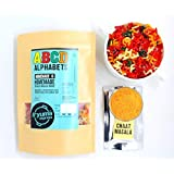 Fryie Express | ABCD with homemade chaat Masala | Learning Alphabet snack | Tasty papad fryums Ready to Fry | 700 Grams