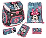 Scooli Campus UP Schulranzen-Set 5-tlg Minnie Mouse MIDS minnie mouse